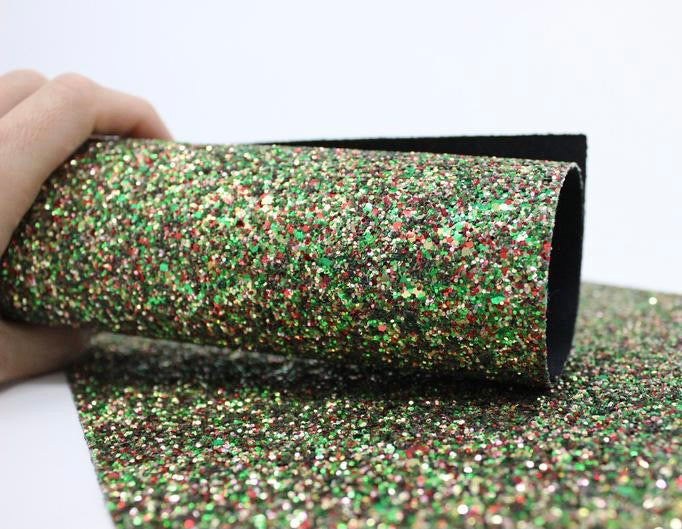 Savannah Bow (Grinch Glitter)
