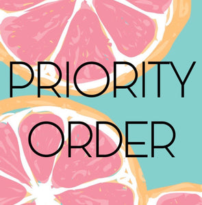 PRIORITY ORDER - Ship Out Next Day - READ DETAILS