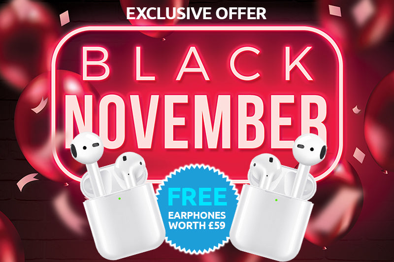 Get a Free pair of wireless earphones when you purchase selected iPhones and iPads from Mobile Reborn