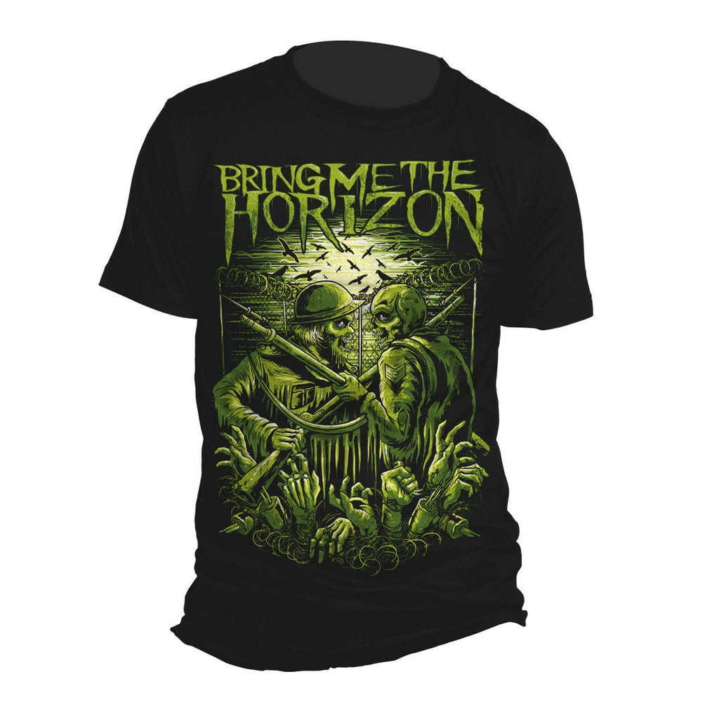 Bring Me The Horizon Wwwiii - Mens Black T-Shirt