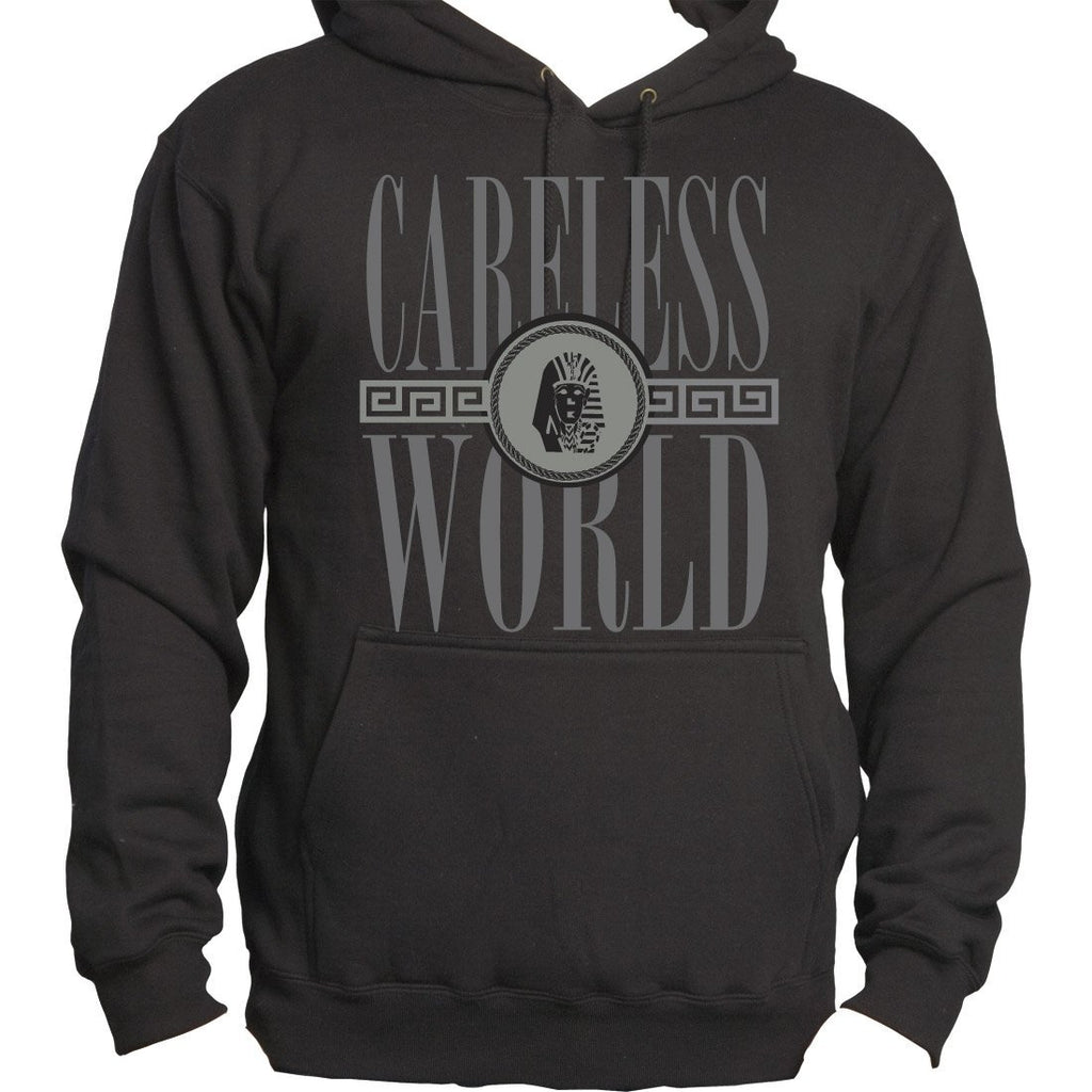 Tyga Carelesss World - Mens Black Pullover Hoodie