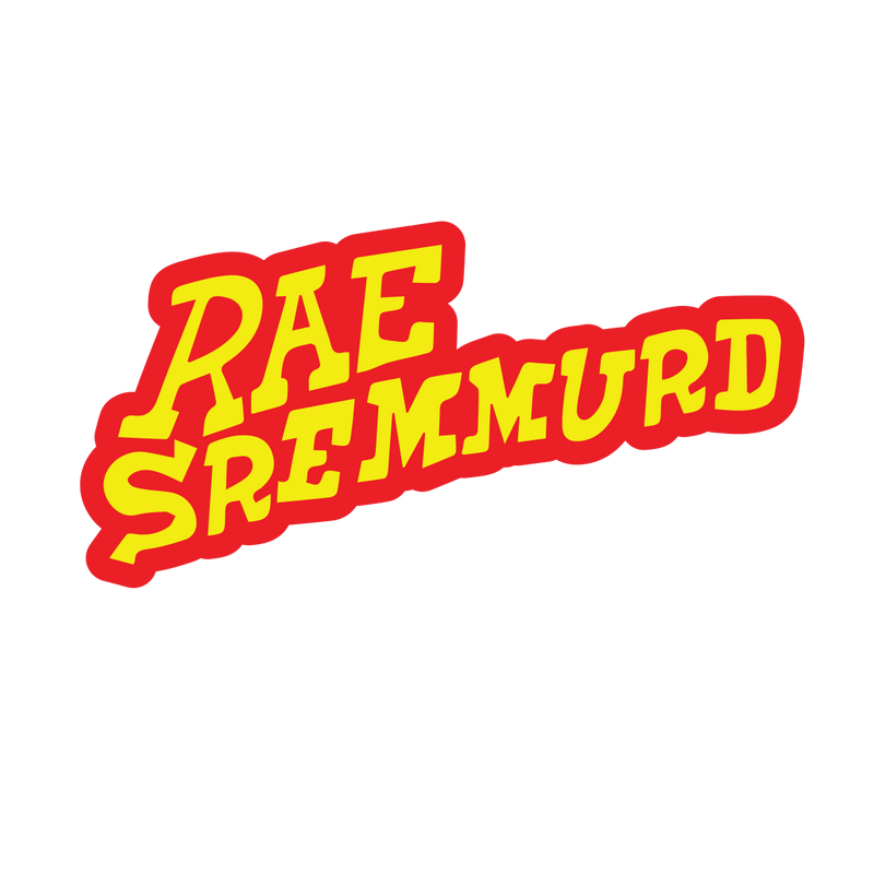 Rae Sremmurd Rae Logo - Mens White Patch