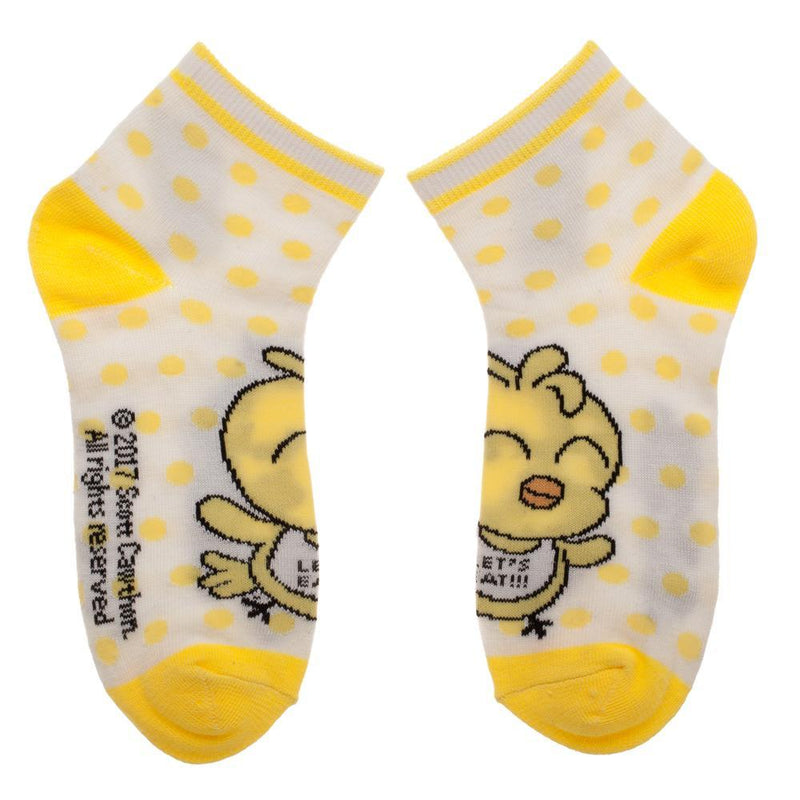FNAF Five Nights At Freddy's 4 Pairs Youth Ankle Socks