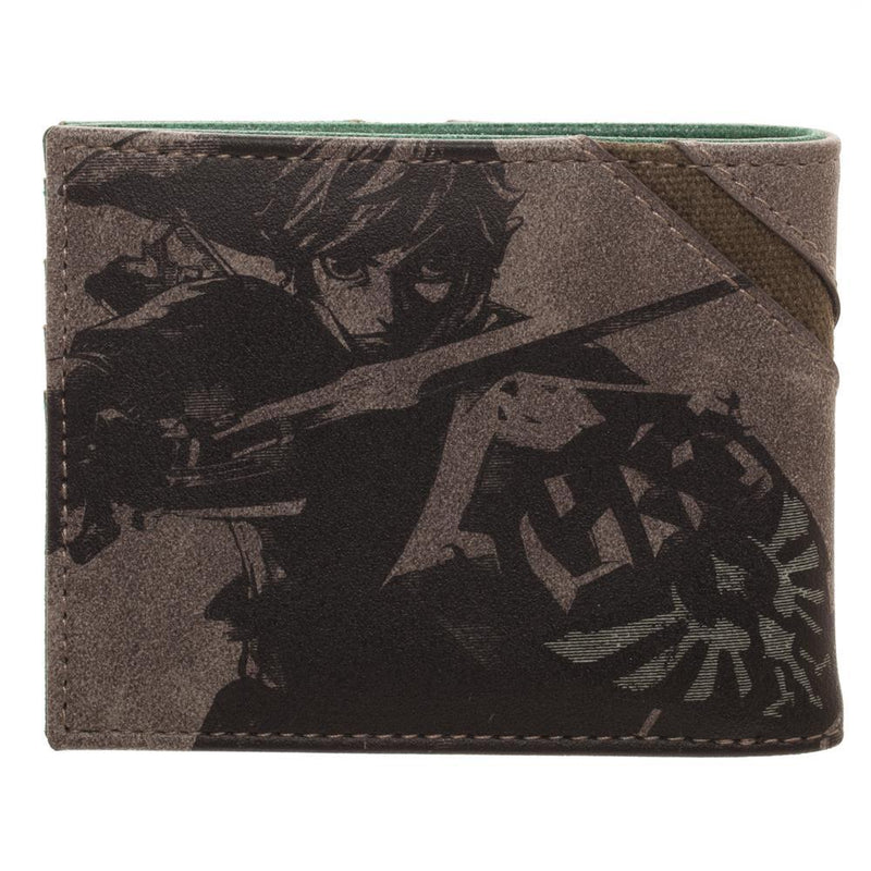 Legend of Zelda Wallet Gift for Gamers Legend of Zelda Accessories - Zelda BiFold Wallet Legend of Zelda Gift