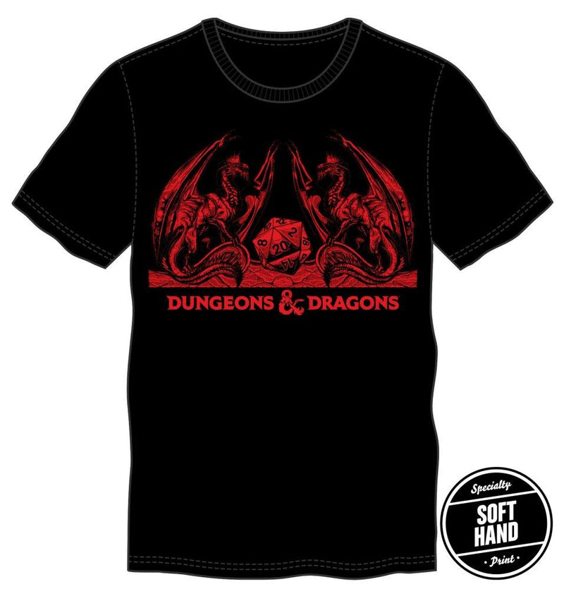 D&D Dragons with Dice Shirt in Red