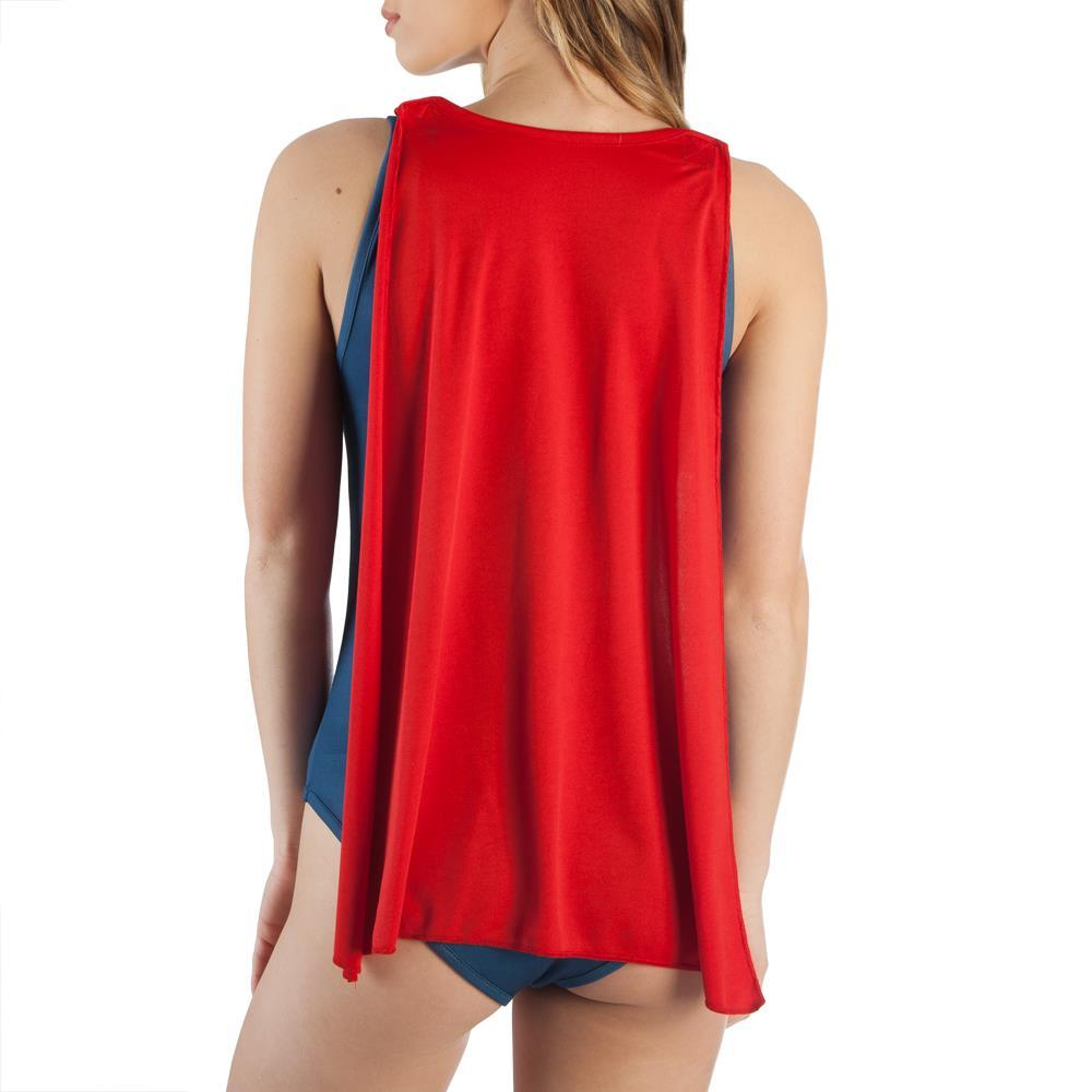WONDER WOMAN BODYSUIT W/CAPE