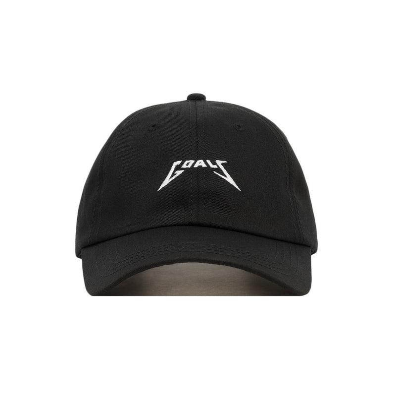 Embroidered Metal Goals Dad Hat - Baseball Cap / Baseball Hat