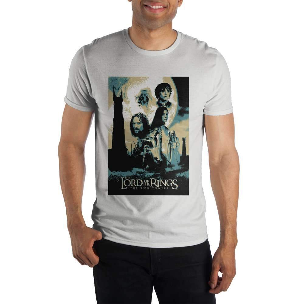 Lord of the Rings The Two Towers White T-Shirt
