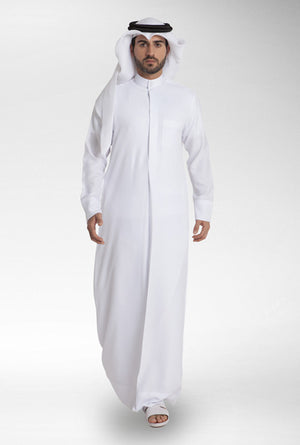 AL HARAMAIN Thobe- White