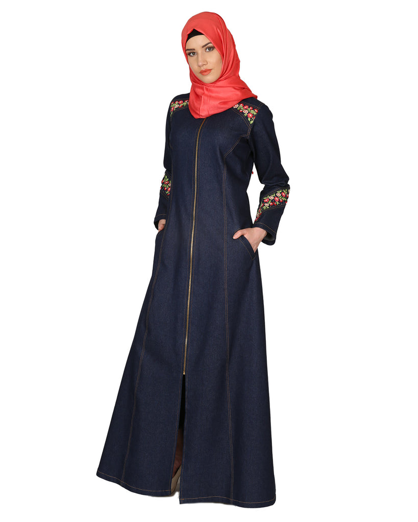 Denim luxury - Abaya