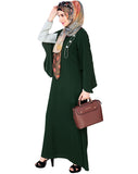 Sleeved Side Open Abaya