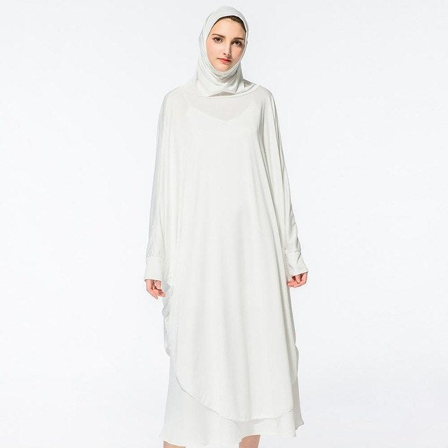 Kaftan Plain Long  Hijabs Dresses