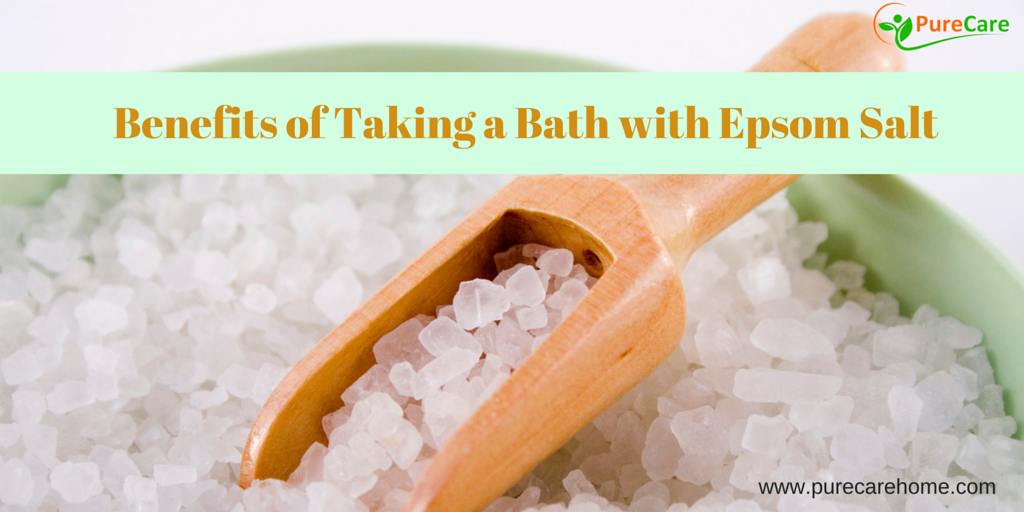 Benefits of Taking a Bath with Epsom Salt