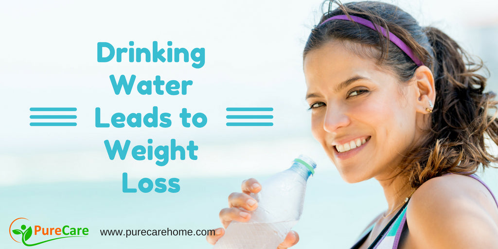 Drinking Water Leads to Weight Loss