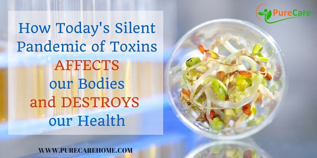 How Today's Silent Pandemic of Toxins Affects Our Bodies and Destroys our Health