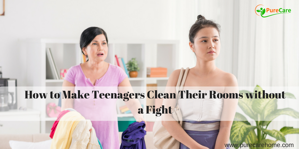 How to Make Teenagers Clean Their Rooms without a Fight