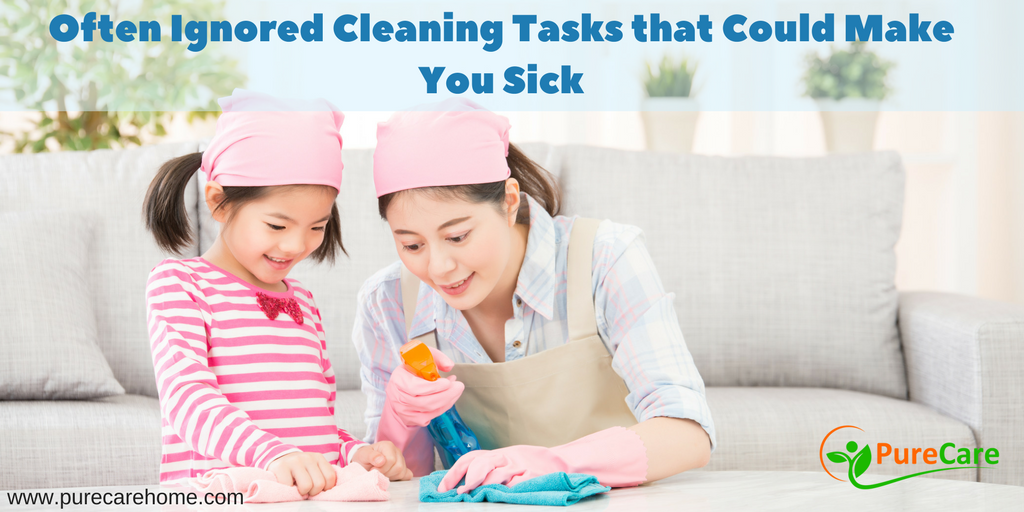 Often Ignored Cleaning Tasks that Could Make You Sick