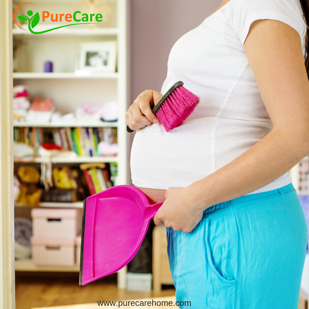 Safely Cleaning Floors While Pregnant