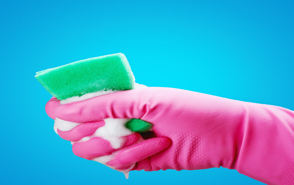 Disinfecting Sponges and Scrub Pads in Microwave