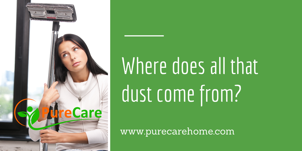 Where Does All That Dust Come From?