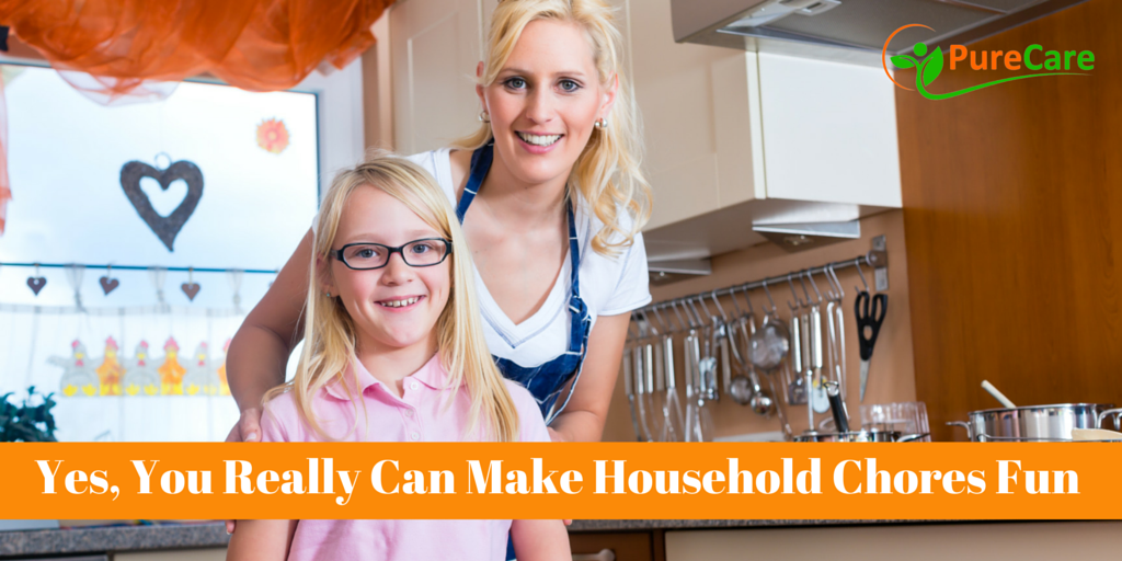 Yes, You Really Can Make Household Chores Fun
