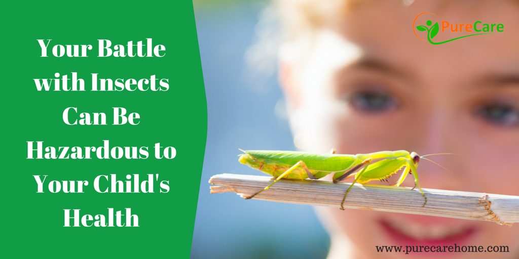 Your Battle with Insects Can Be Hazardous to Your Child's Health