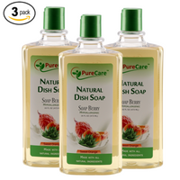 Soap Berry Natural Dish Soap Sweet Orange 16 oz