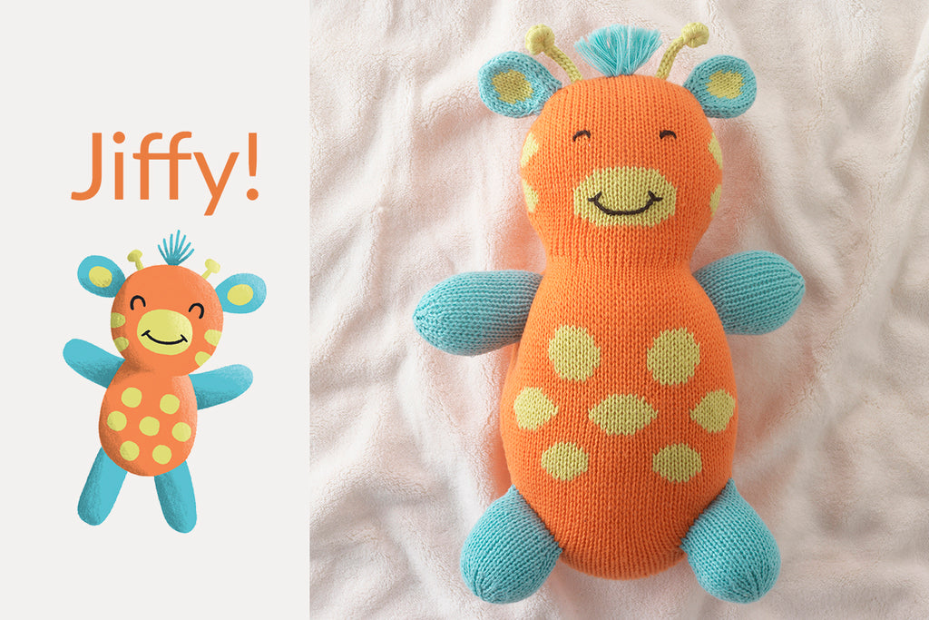 organic giraffe stuffed animals