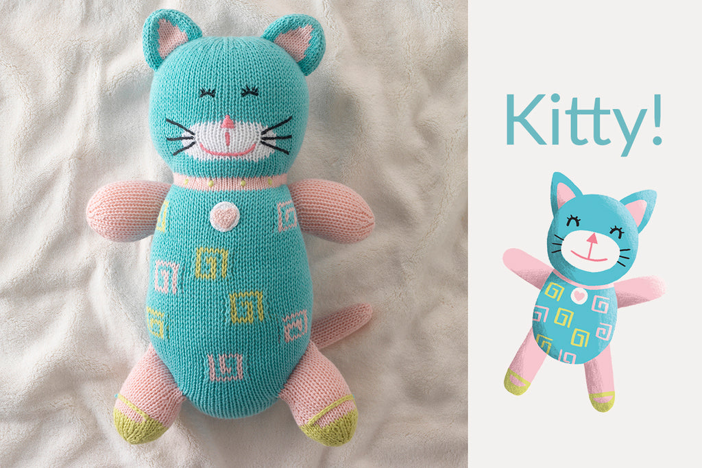 organic cat kitten stuffed animals
