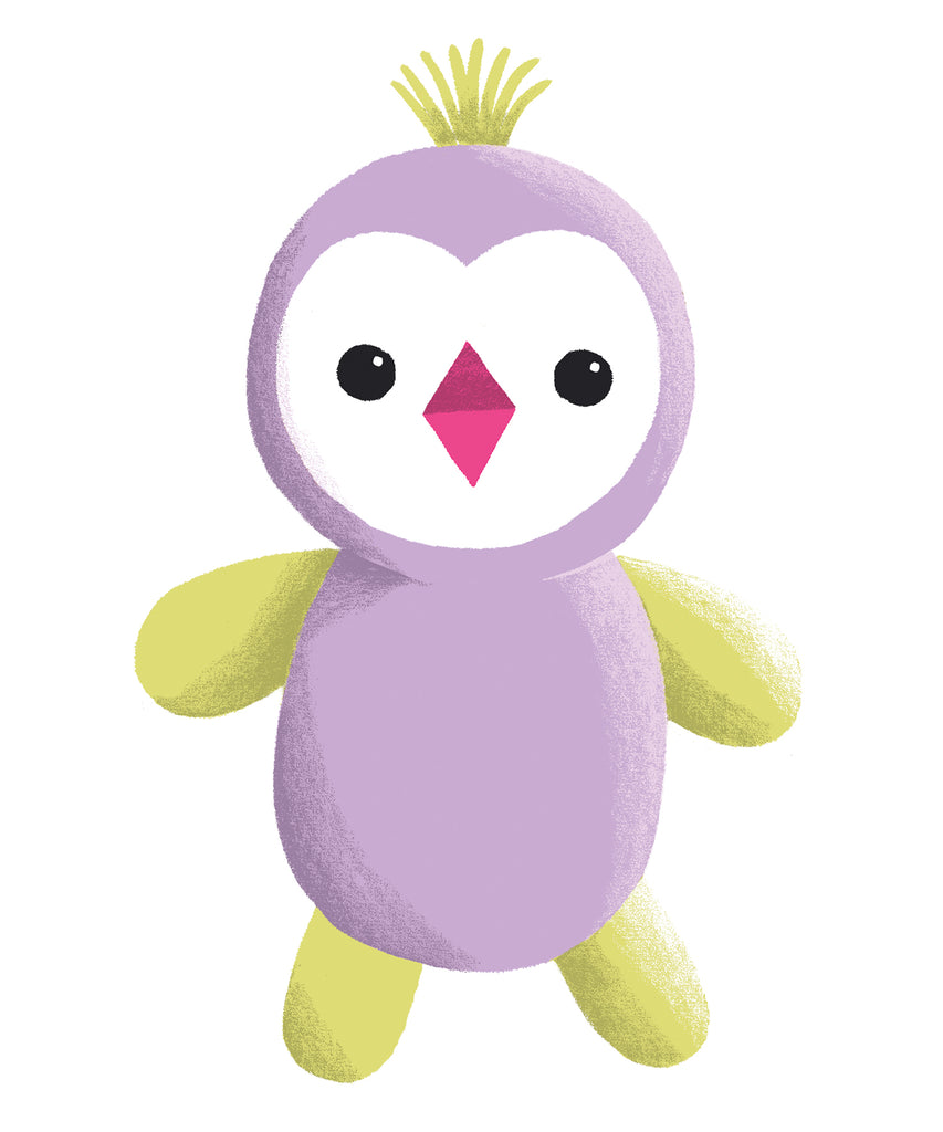 Organic Cotton Penguin Stuffed Animals