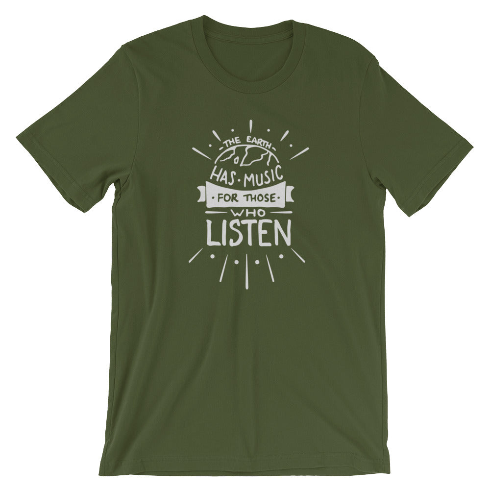 Great Adventure Earth Music T-Shirt
