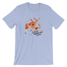 Coffee Spill Rabbit T-Shirt