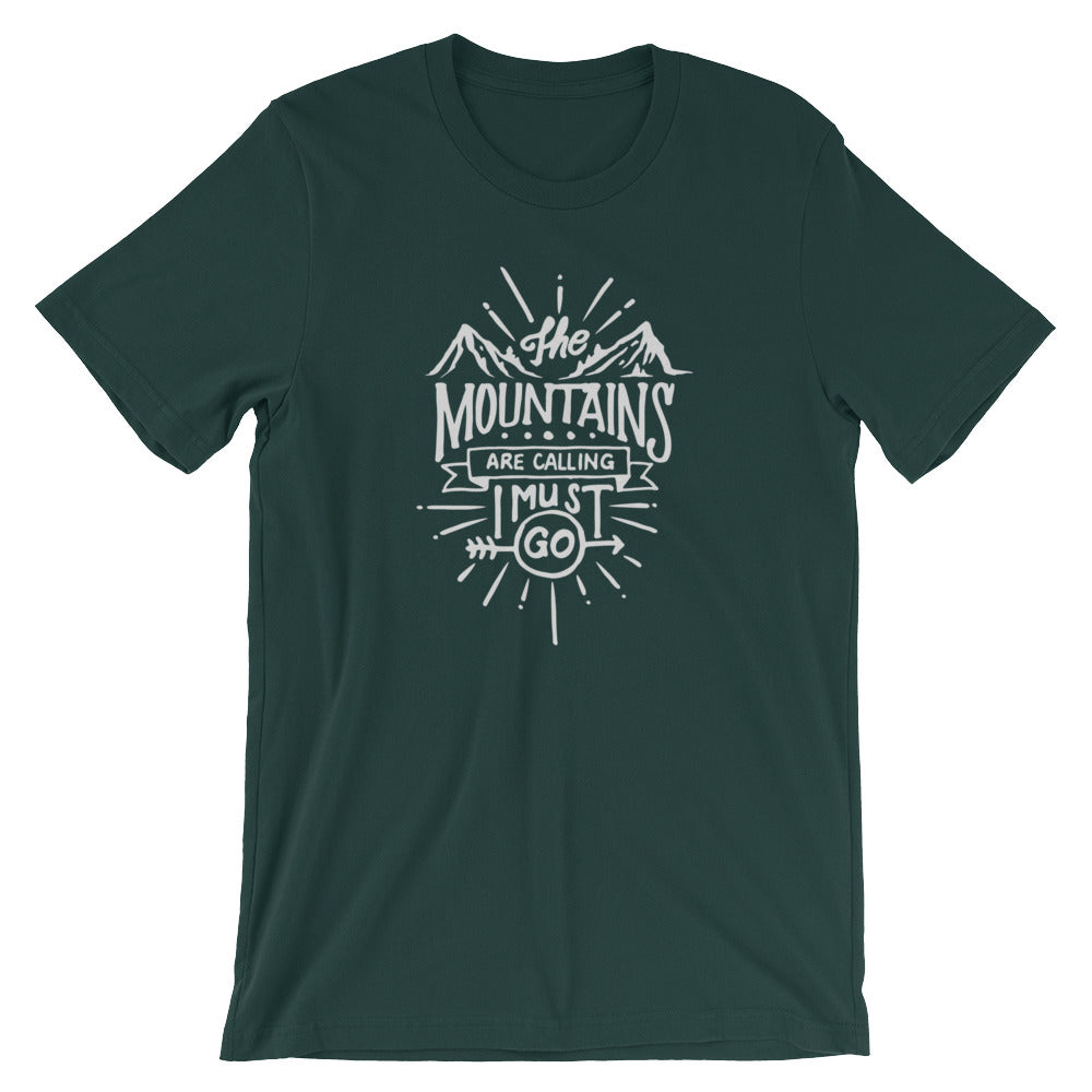 Great Adventure Mountains Calling T-Shirt