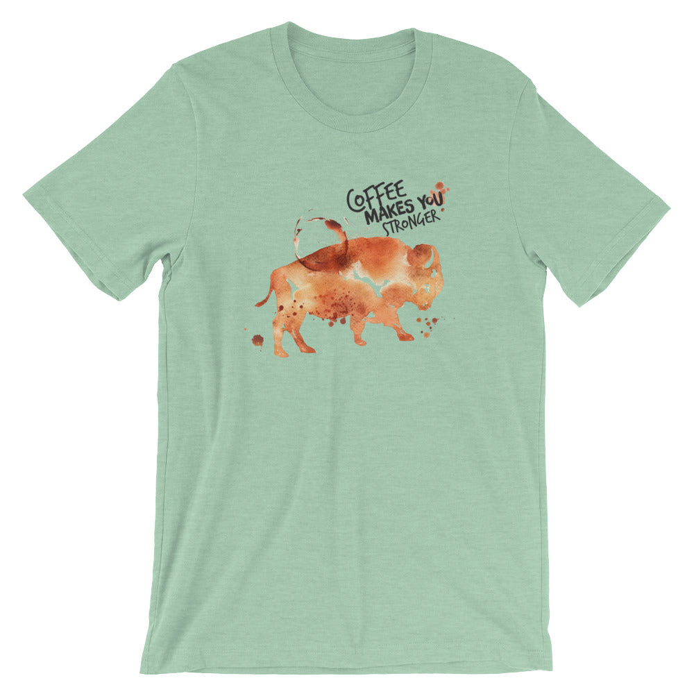 Coffee Spill Buffalo T-Shirt