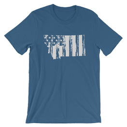 Montana US Flag T-Shirt