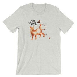 Coffee Spill Cat T-Shirt