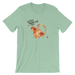 Coffee Spill Monkey T-Shirt