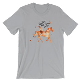 Coffee Spill Horse T-Shirt