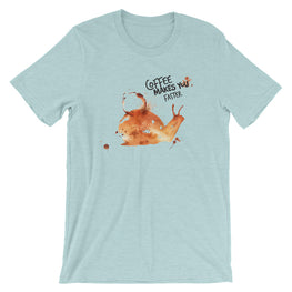 Coffee Spill Snail T-Shirt