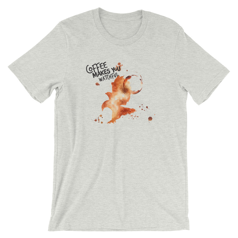 Coffee Spill Eagle T-Shirt