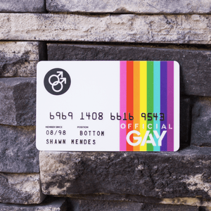 Official GAY Card - www.gaycard.xyz