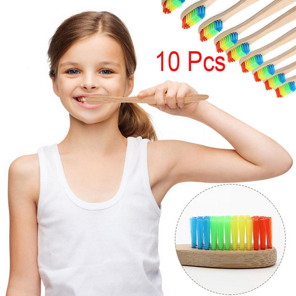 Rainbow Toothbrush (10pack) - www.gaycard.xyz