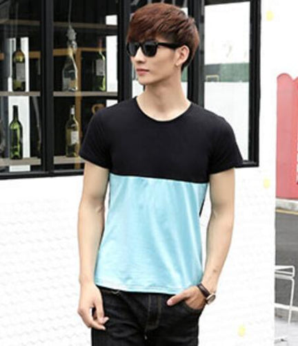 Short Sleeve Casual Tops Cotton Cute Sweet Korean Matching Couple T Shirts
