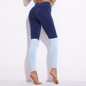 Women Fashion Casual heart Patchwork Fitness Leggings Size S-XL