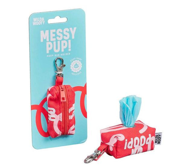 Wild & Woofy Messy Poop Holder