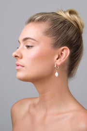 Liberte Florence Earring - Gold Pearl