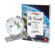 Puzzle Book - The World