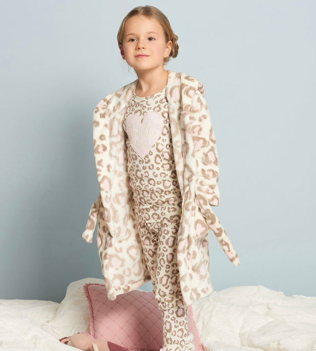 Hatley Painted Leopard Organic Cotton Pyjamas
