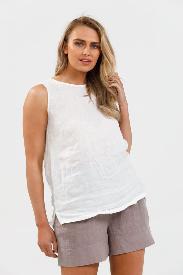 Broadway Top - White