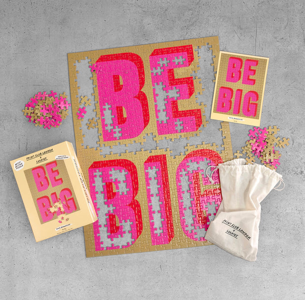 Print Club X Luckies Puzzle - BE BIG
